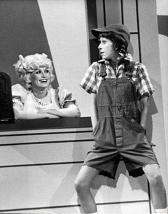 Dolly Parton and Carol Burnett on TV Special Vintage Original Photograph
