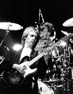 The Police Performing on Stage Vintage Original Photograph