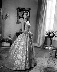 Ingrid Bergman Posed in Gown Movie Star News Fine Art Print