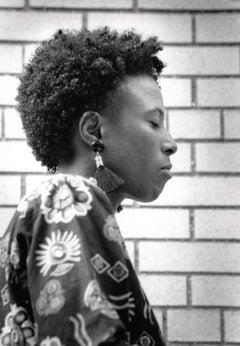 Geri Allen Profile in Brookyln Vintage Original Photograph