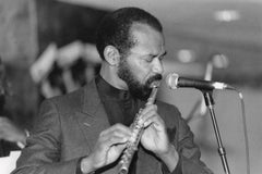 Hubert Laws Playing Flute Vintage Original Photograph