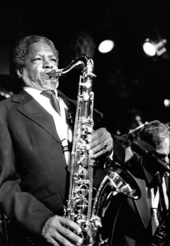 Illinois Jacquet Playing Saxophone Vintage Original Photograph