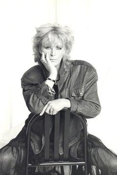 Marianne Faithfull Posed in the Studio Vintage Original Photograph