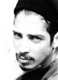 Chris Cornell of Soundgarden Closeup Vintage Original Photograph