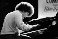 Anthony Davis: Famed Composer on the Piano Vintage Original Photograph