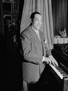Duke Ellington in Washington Globe Photos Fine Art Print