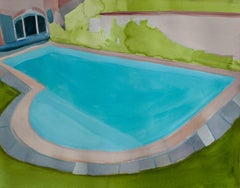 piscine de la famille anglaise