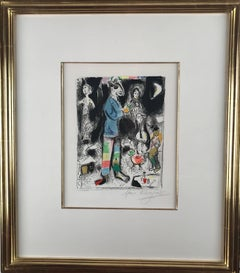 Marc Chagall, Paysan au violun