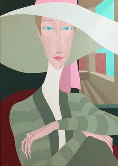 Amleto dalla Costa, Anne, unique painting