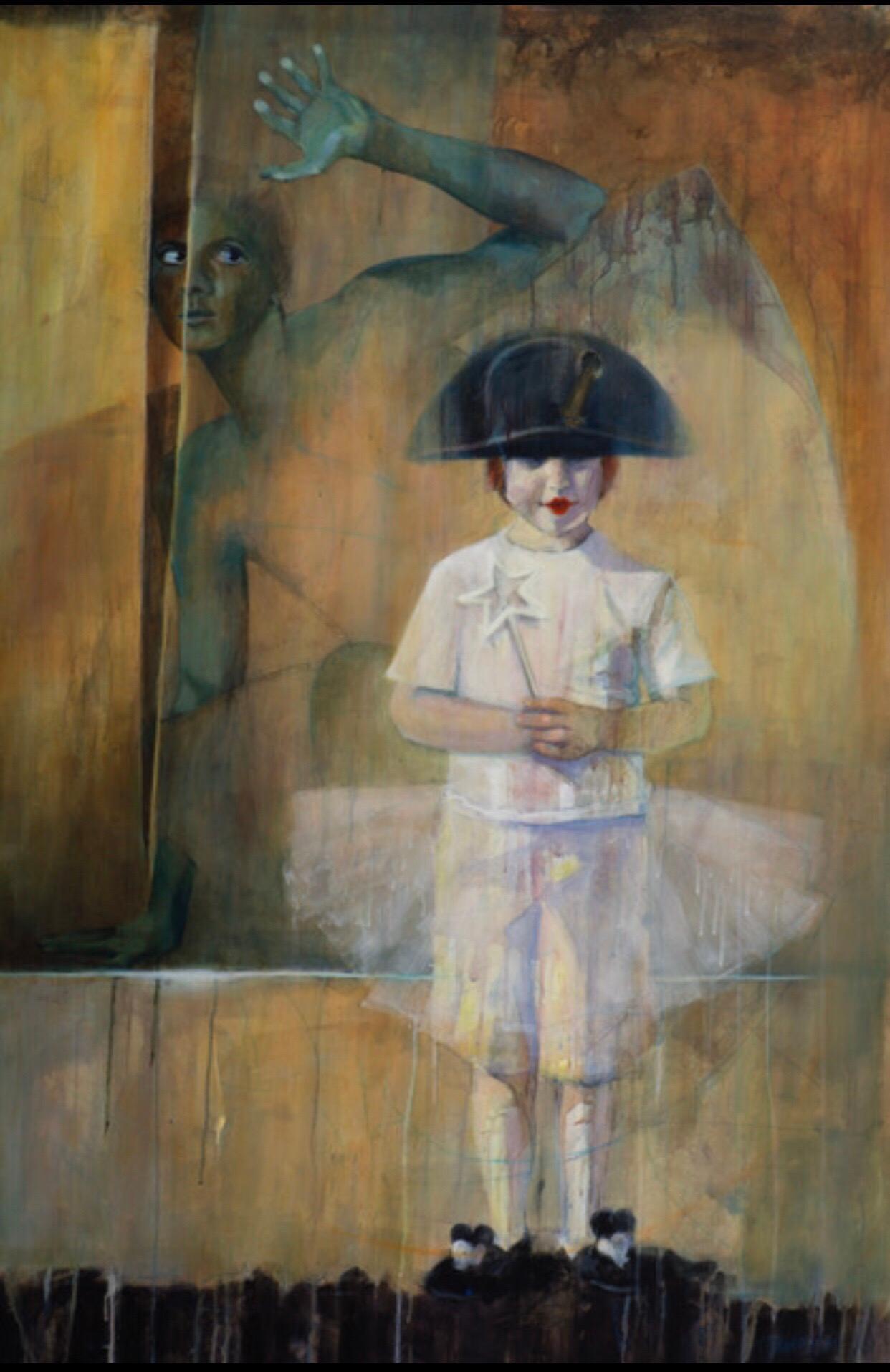 """Acrylic on Canvas Titled """"Dear Prudence"""""""