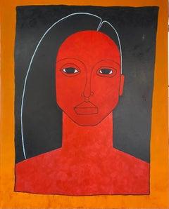 Acrylic on Canvas by Robert Catapano