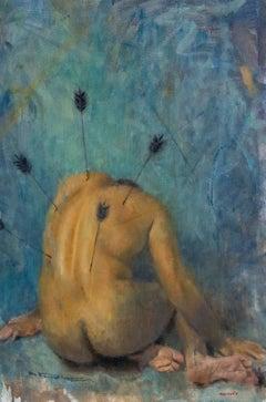 "Oil on Canvas Titled ""Hopeless Romantic"""