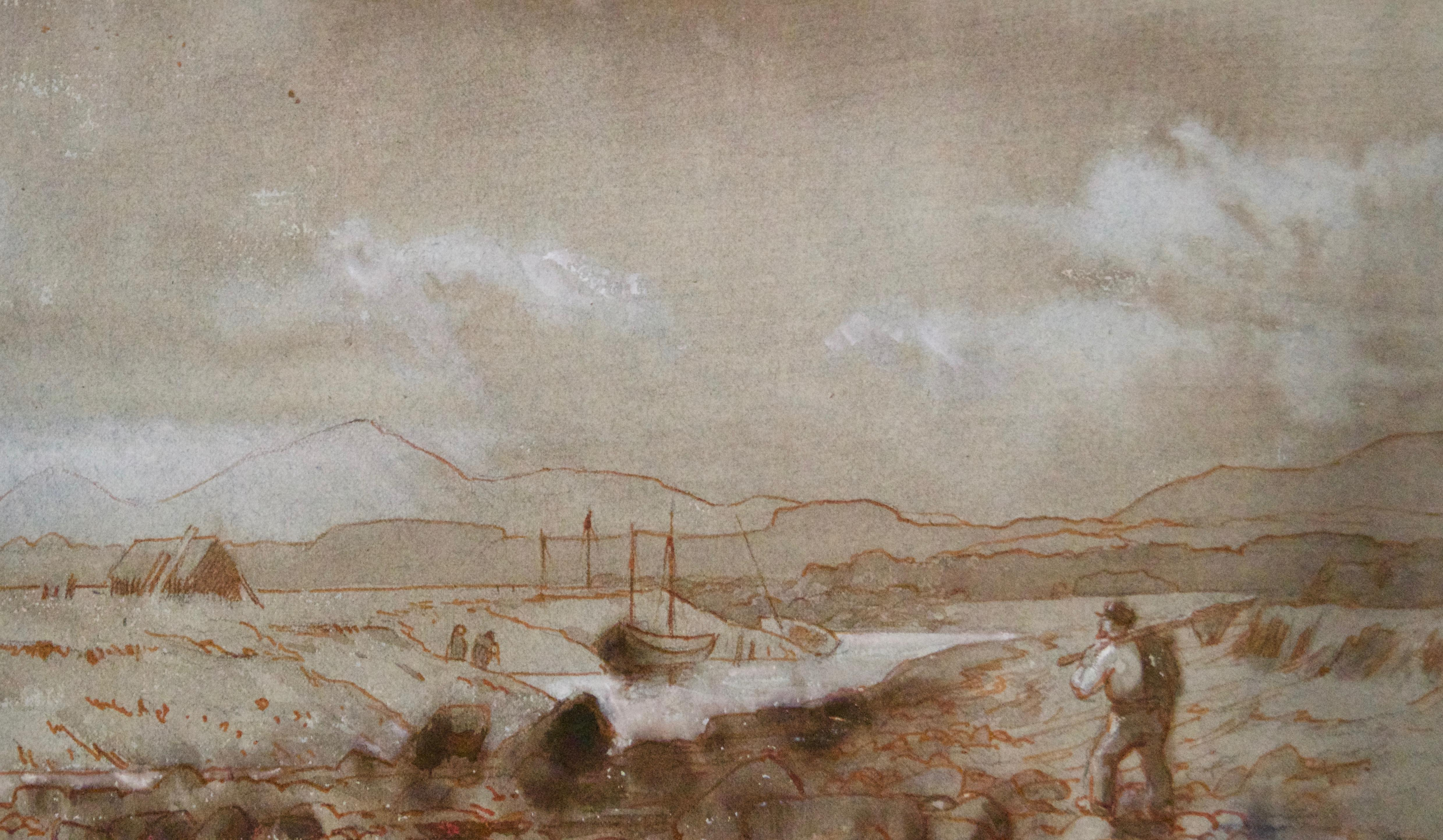 Country Landscape - Late 19th Century Countryside Painting by Lewis George Fry