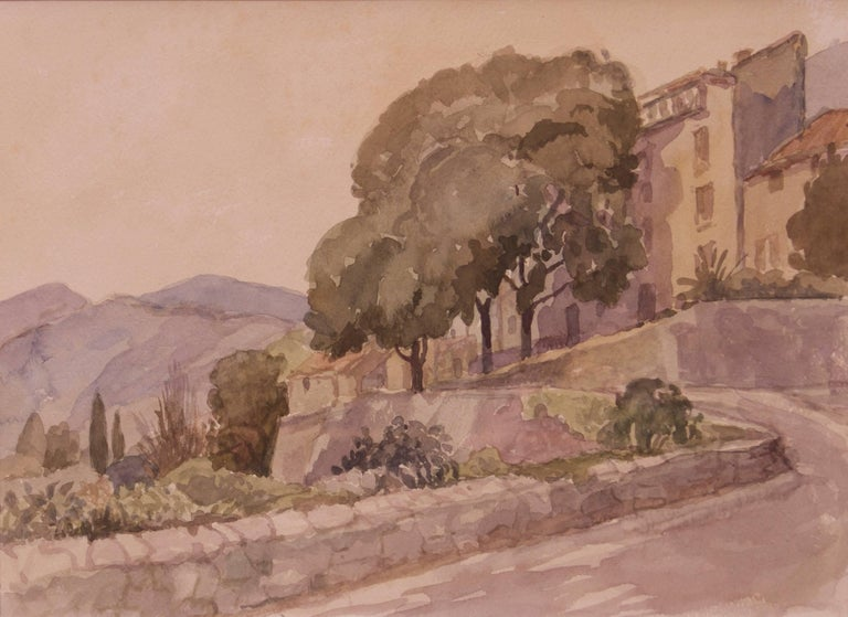 Born on June 25 1911 - she died just before her 100th birthday, fond of drawing and painting from an early age, she did her first drawing when she was four years old. She later studied at Hornsey School of Art and it was while she was there, as