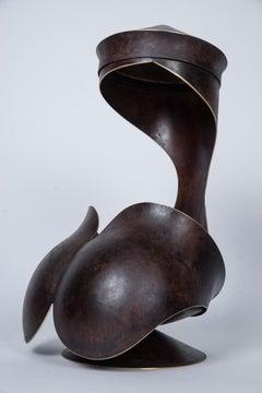 """""""Ariane"""" Brass Sculpture"""
