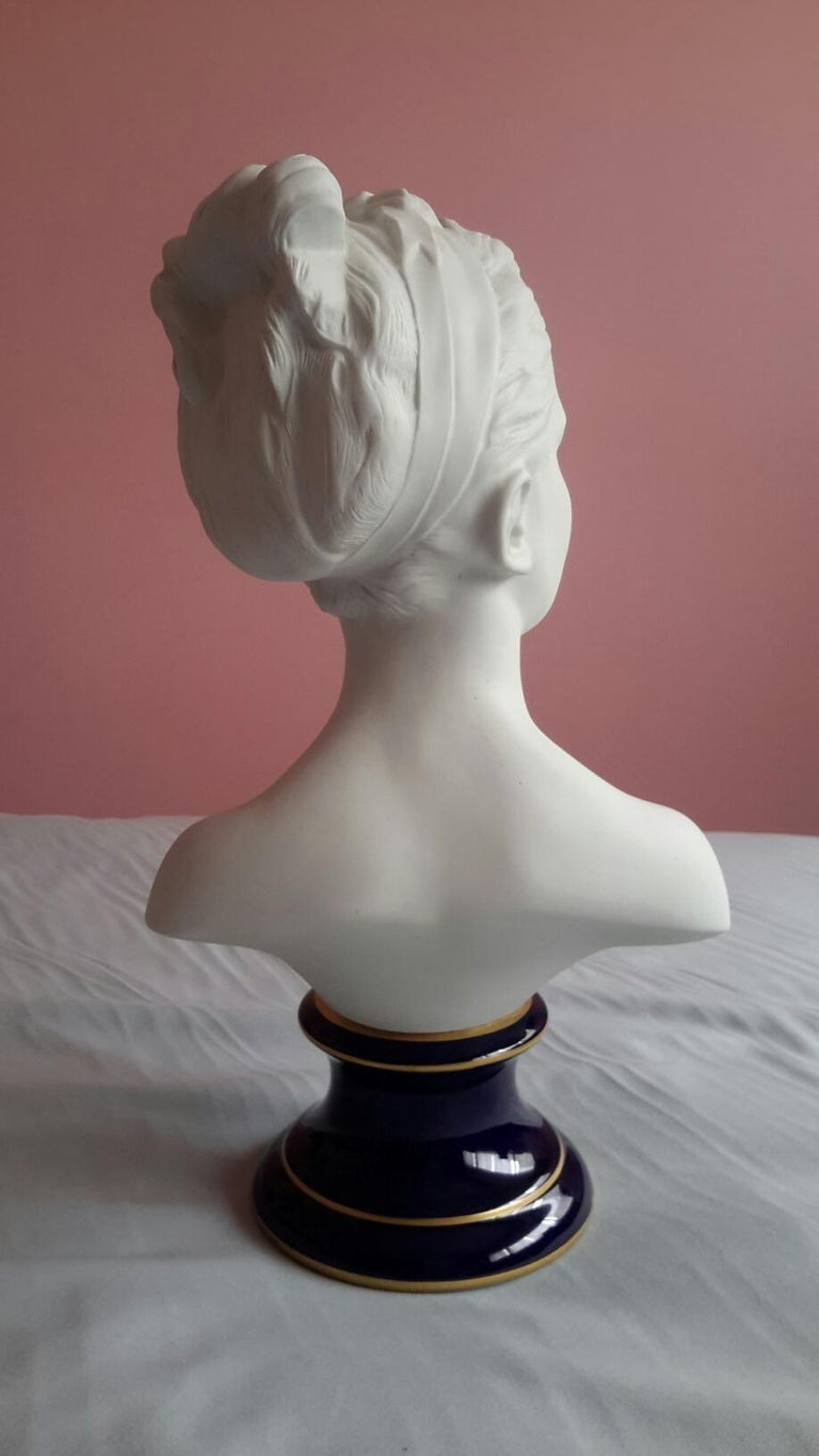 Little Girl Biscuit Bust  For Sale 4