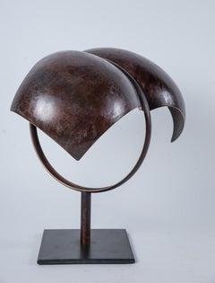 """Insomnia"" Abstract Brass Sculpture"