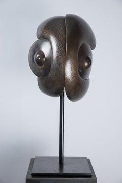 """""""Le Caméléon"""" Brass Sculpture"""