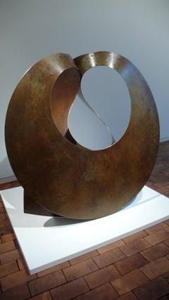 """Surface 2"" Large Brass Sculpture"