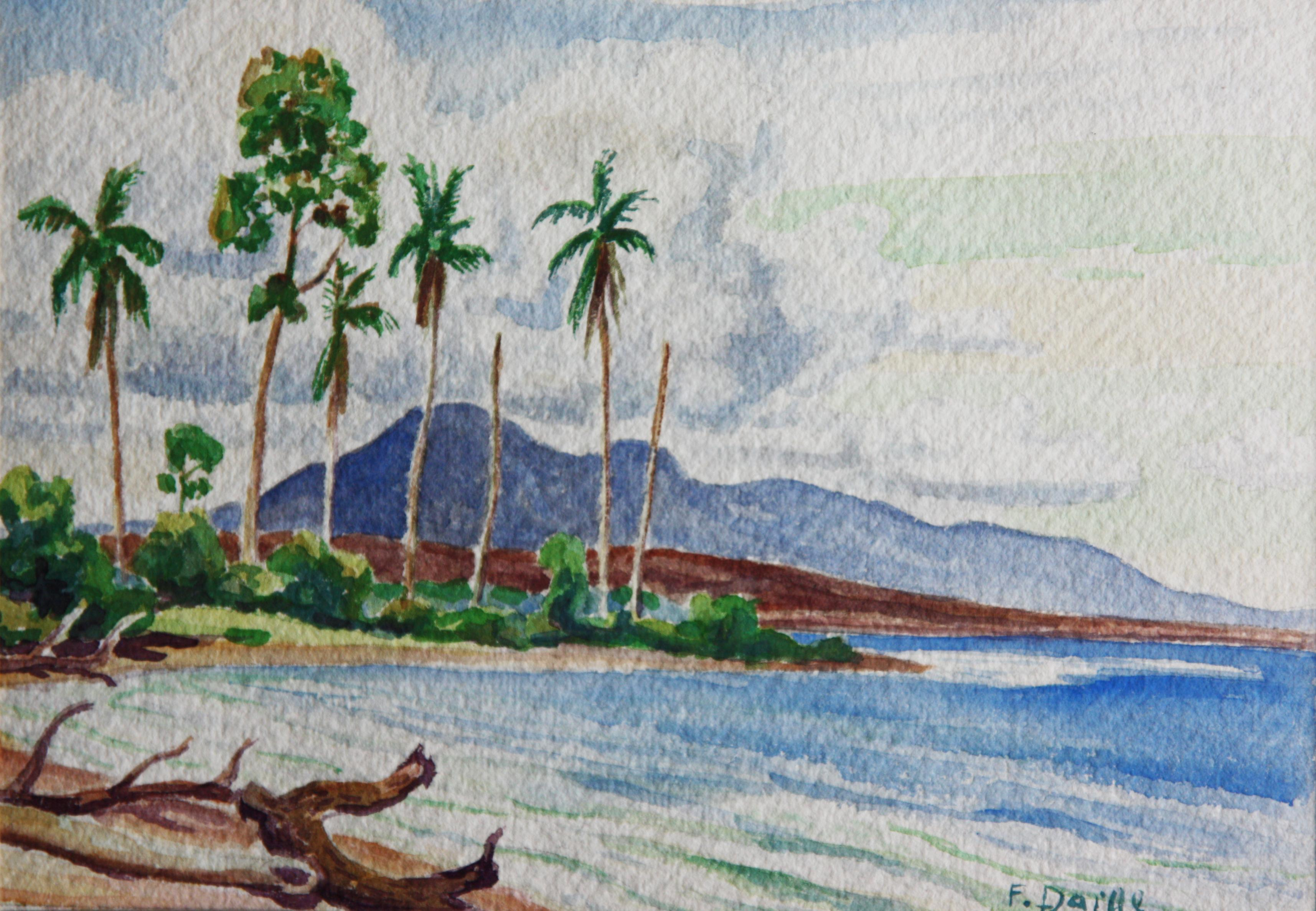 f291eb3a62 Beach Watercolors - 614 For Sale on 1stdibs