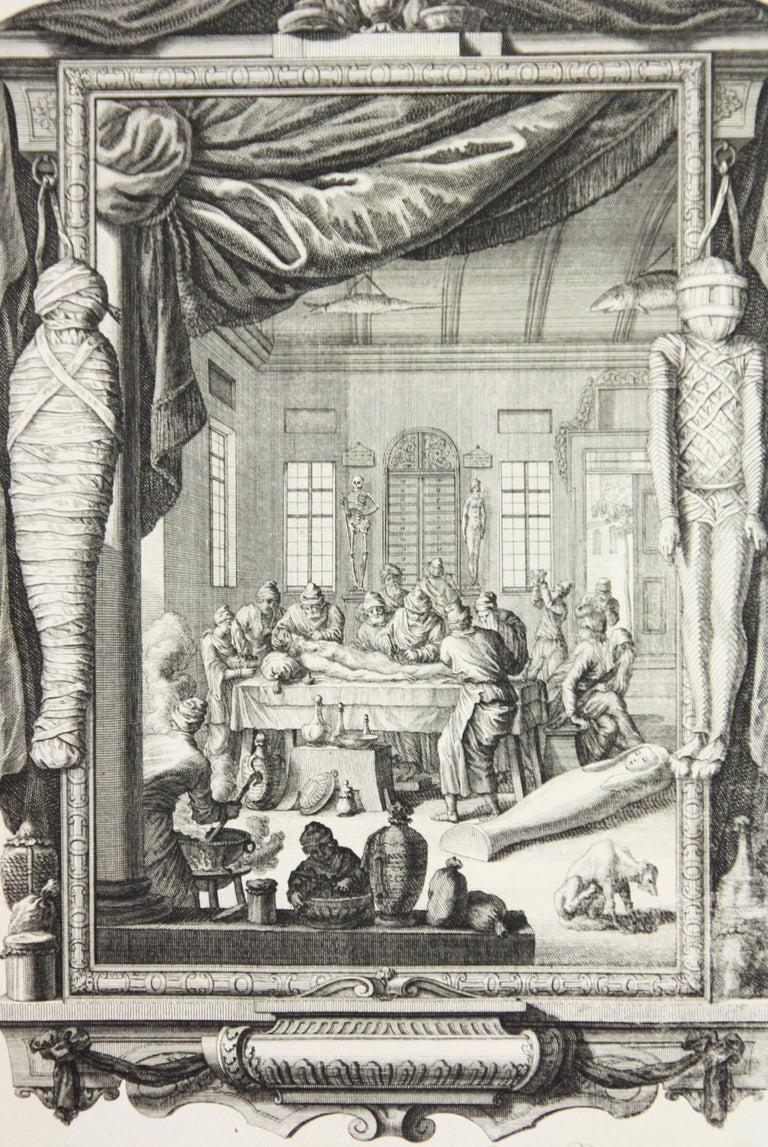 Copperplate Engraving of Biblical Scene in Genesis by: Georg Daniel Heumann - Print by Georg Daniel Heumann