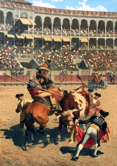 The Bullfight  Karl Wagner  German