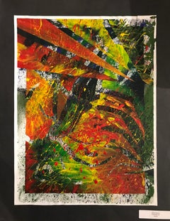 """Abstract Expressionism Painting by Kaylin Keever Entitled """"Fruit Roll-Up"""""""