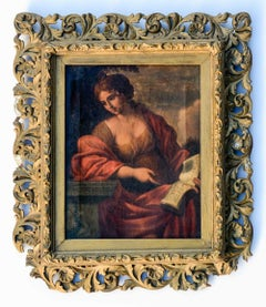 Old master painting after The Cumaean Sibyl by Giovanni Francesco Romanelli