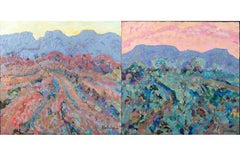 20th Century Landscape Pair by Charles Holman