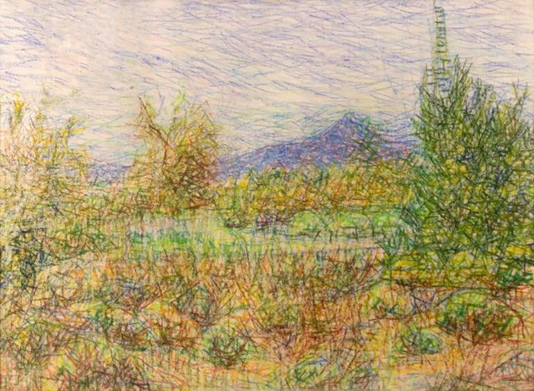 """Wladyslaw Brzosko (1912-2011) """"Buffalo Ridge"""" - Art by Wladyslaw Brzosko"""