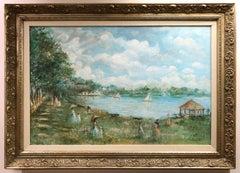 Figurative Landscape Oil Painting by Elizabeth Van Court