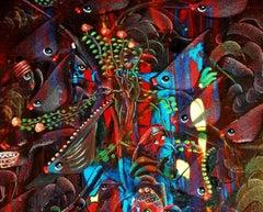 Original Gil Veda Painting FishyTales Series