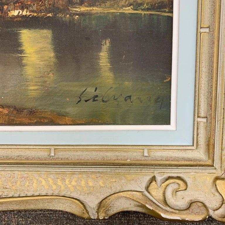 Original Oil Painting by J. Silvana