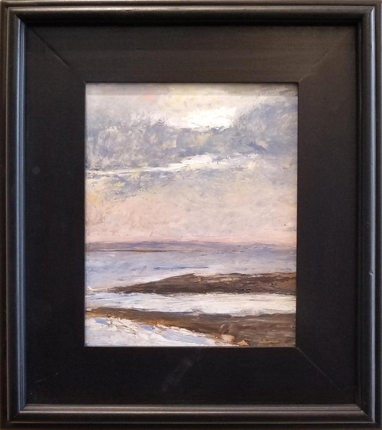 Renee Ortiz Landscape Painting - Newport Light