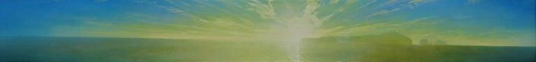 James David Thomas Landscape Painting - Pacific Event