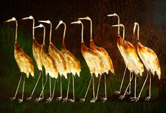 Cranes on  Walk