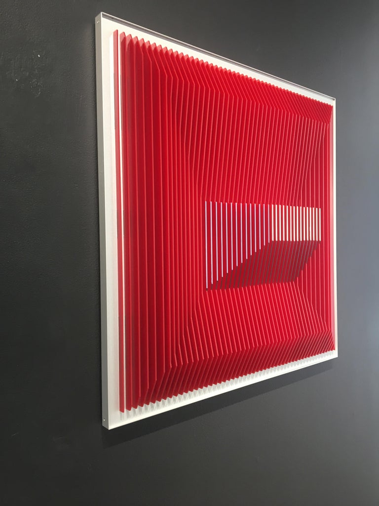 J. Margulis, Di30-RS - Abstract Geometric Sculpture by J. Margulis