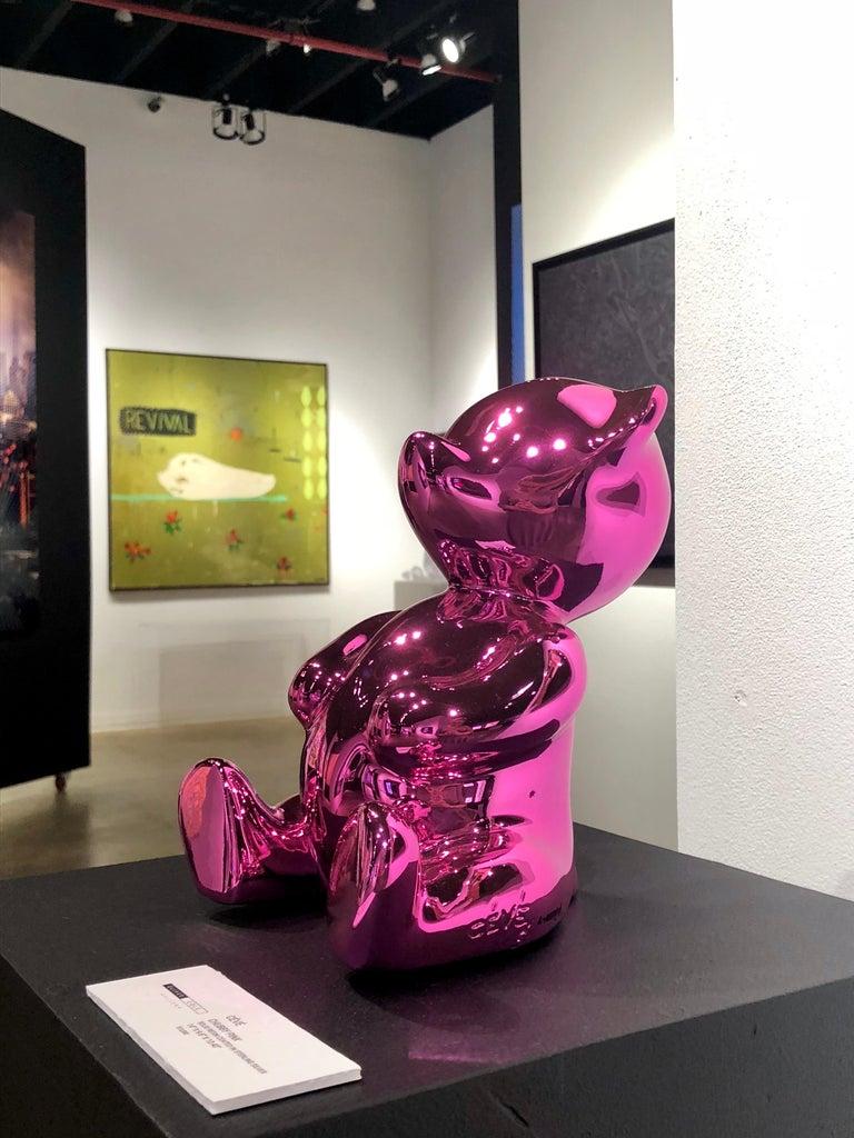 Cévé, Chubby Pink - Contemporary Sculpture by Cévé