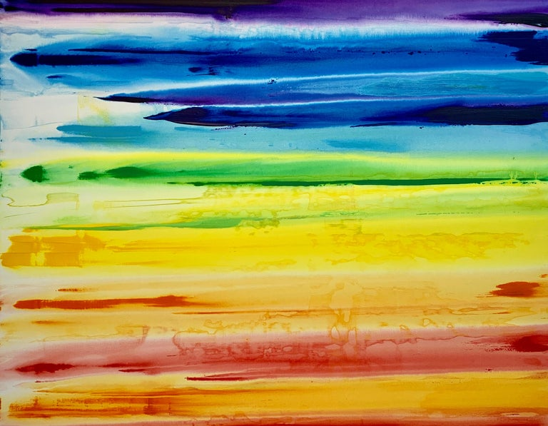 Erik Skoldberg, Rainbow Edit - Painting by Erik Skoldberg