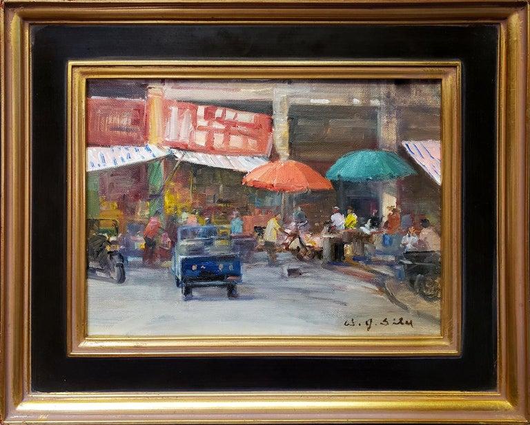 Marketplace - Painting by W. Jason Situ