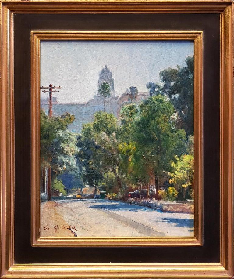 Pasadena Atmosphere - Painting by W. Jason Situ