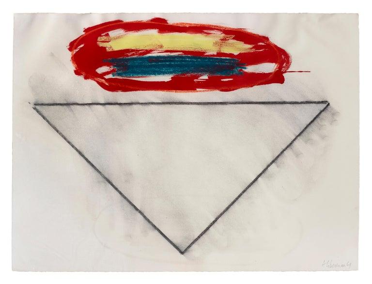 Alexander Liberman Abstract Drawing - Untitled