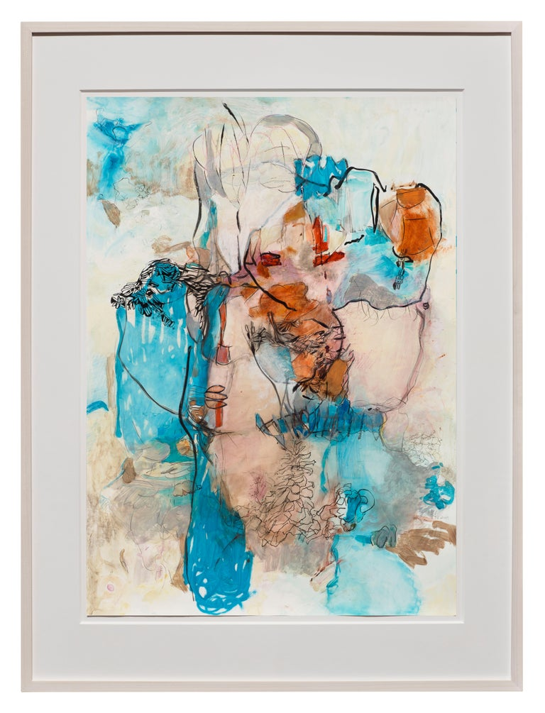 On Sugar Mountain I - Abstract Expressionist Art by Terrell James