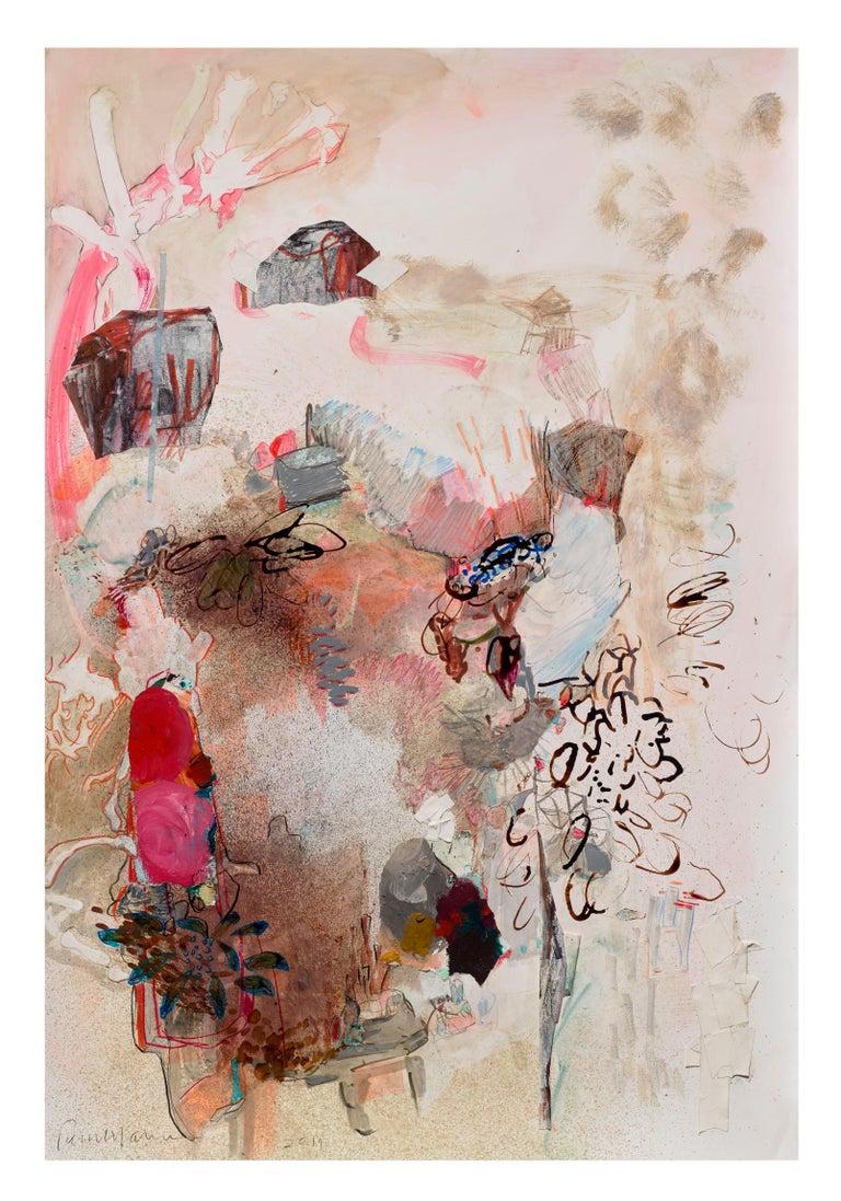 Terrell James Abstract Drawing - Banquet