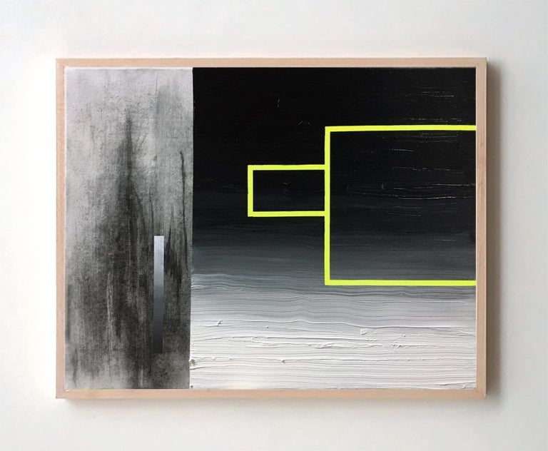 Guillermo Garcia Cruz Abstract Painting - Space XXIIc