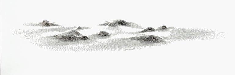 Julian Teran Abstract Drawing - Hot Spots 9