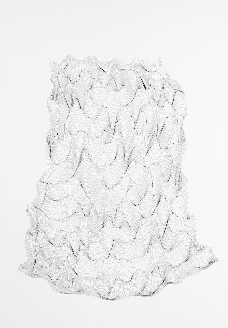 Julian Teran Abstract Drawing - P13