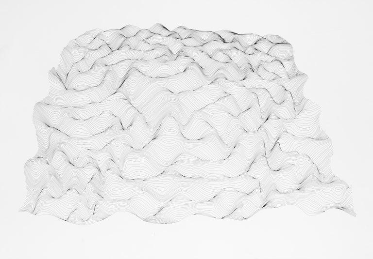 Julian Teran Abstract Drawing - P15