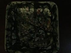 abstract ceramic platter