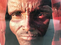 face of a man africa